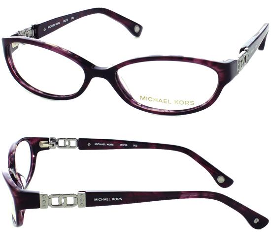 purple horn plastic frames 50 15 130 mk216502 149 list price - Michael Kors Eyeglasses Frames