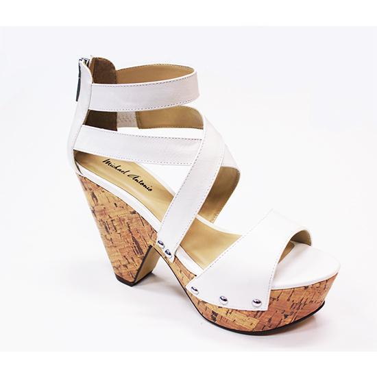 Michael Antonio Globe Demi Wedge Sandals