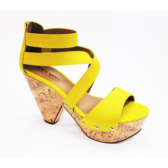 michael antonio globe demiwedge sandals