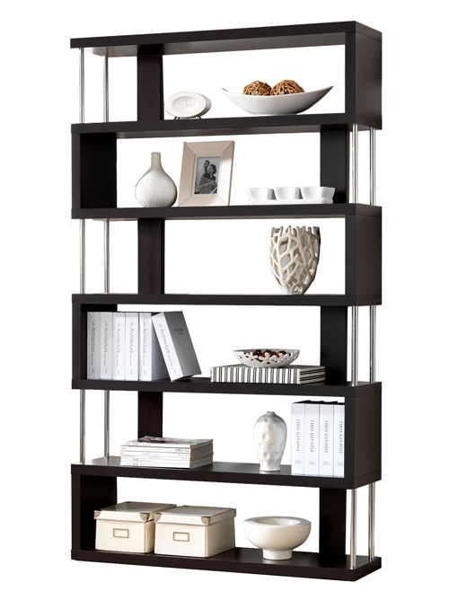 Modern home storage for Contemporary display shelves