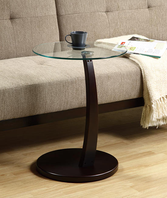 Tempered Glass Side Tables