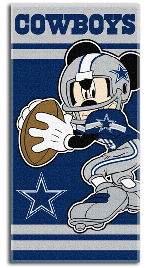 Nfl Mickey Mouse Beach Towels