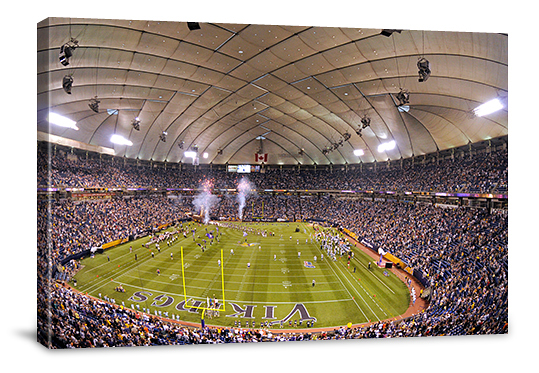 Nfl Stadium Gallery Wrapped Canvases