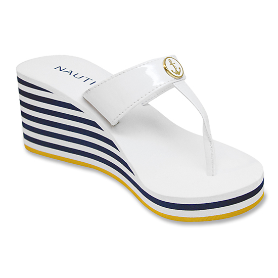 Nautica Women S Espadrilles Flip Flips And Wedge Sandals