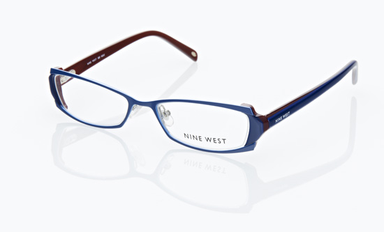 nine west womens optical frames