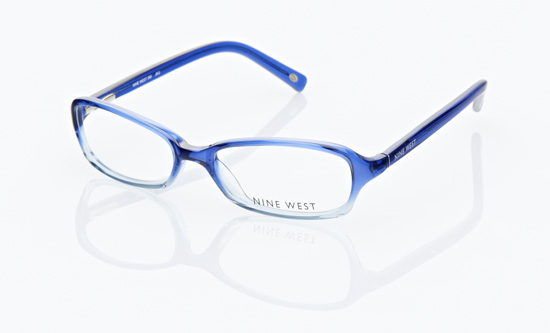 nine west womens eyeglasses cobalt blue 390 ojku 13999 list price