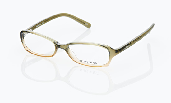 nine west womens eyeglasses olive manganato 390 0jkv 13999 list price