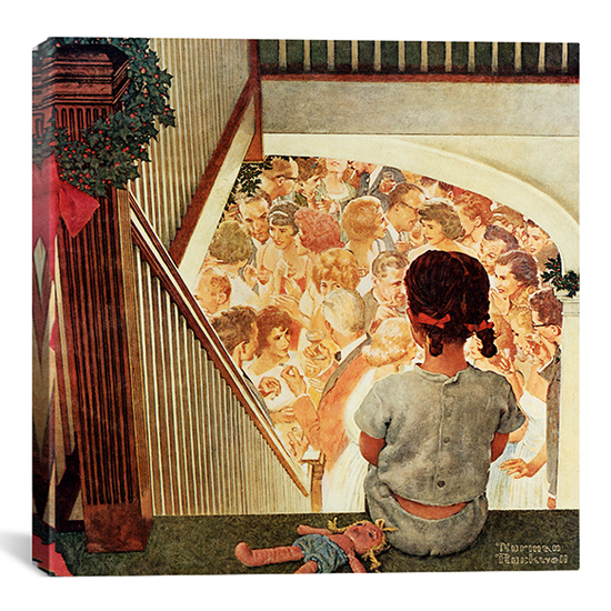 Norman Rockwell Gallery-Wrapped Canvas Print