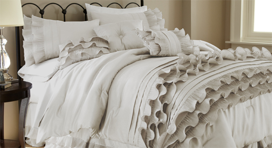 Amrapur Overseas Inc Embellished 8 Piece Comforter Set