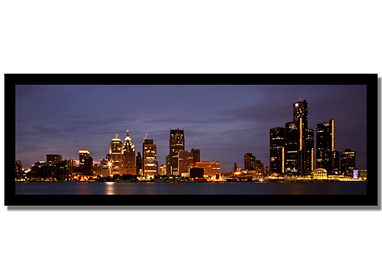 Cityscape Framed Canvas