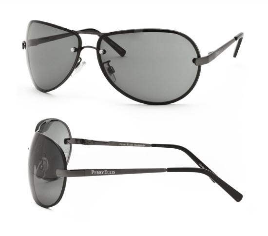 description perry ellis aviator sunglasses