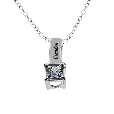 Monogramonline birthstone necklaces aloadofball Images
