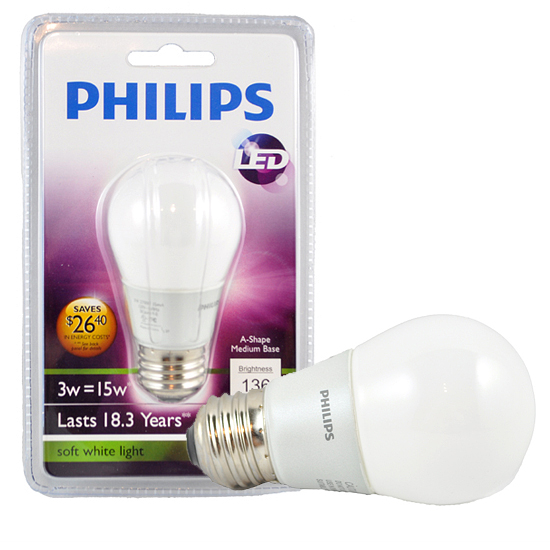 four pack of 3 watt a15 led fan light bulbs. Black Bedroom Furniture Sets. Home Design Ideas