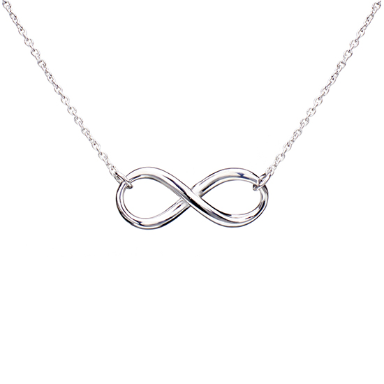18 karat gold plated bow heart and infinity pendants 1199 for 18 karat white gold plated infinity pendant with italian cable chain 6750 list price aloadofball Gallery