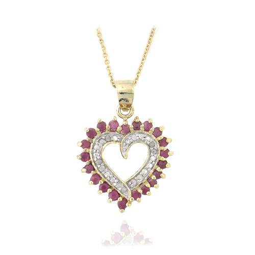 Precious gemstone pendant necklaces aloadofball Image collections