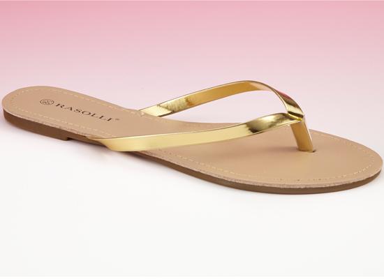 d19e0ab2ae09 Rasolli Flat Thong Sandals