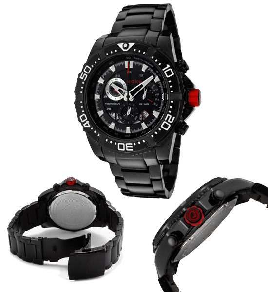 men s red line watches