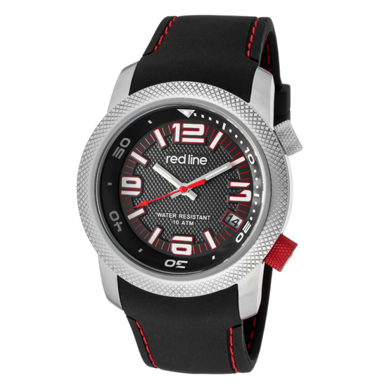 Red Line Men's Octane Silicone Watch - photo #5