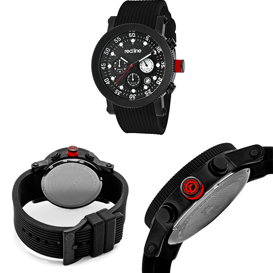 red line men s compressor watches