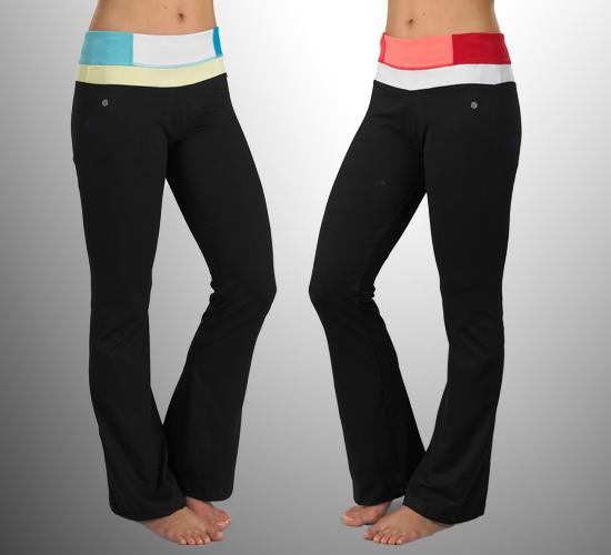 Bally Total Fitness Yoga Wear
