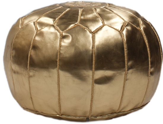 Moroccan Pouf Ottoman Style Options Delectable Gold Pouf Target