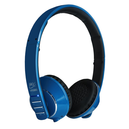 meelectronics air fi af32 bluetooth headphones with hidden mic. Black Bedroom Furniture Sets. Home Design Ideas