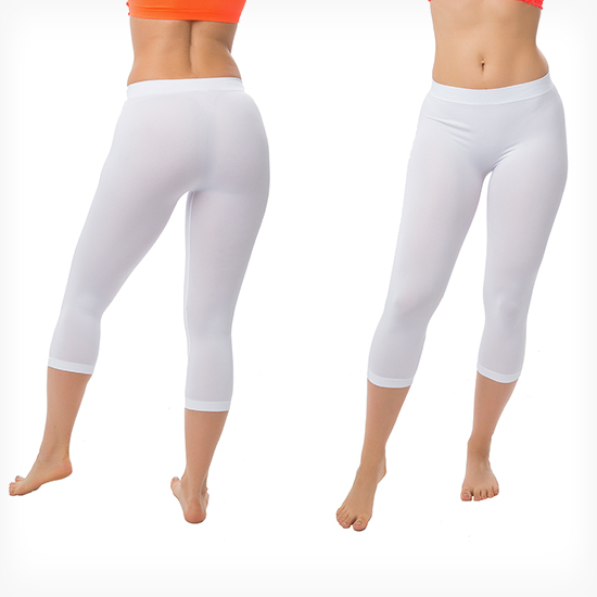 3-Pack of Seamless Capri Leggings