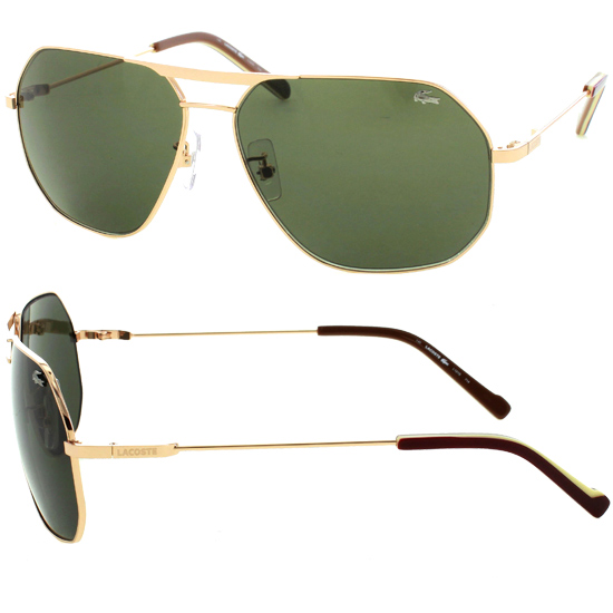 men aviator sunglasses c2cu  Men's Metal Aviator Frames with Squared Edges