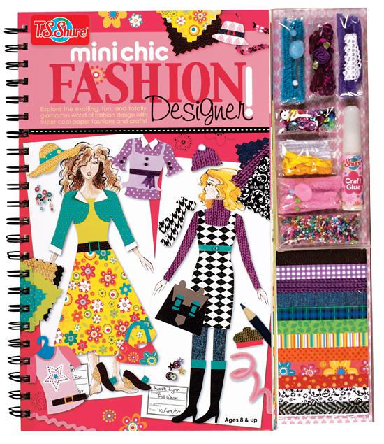 Shure kids kits or books for Fashion designer craft sets