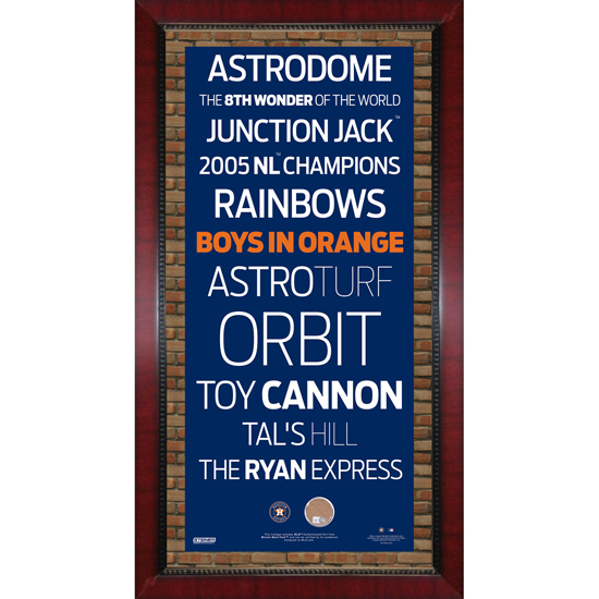 Mlb subway style signs with authentic dirt for American frame coupon code