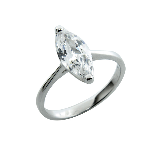1247b34e4b9 Sterling Silver Engagement Ring