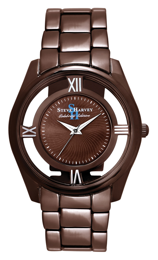 Steve harvey men 39 s celebrity watch for Celebrity watches male