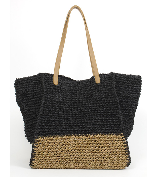 Magid Handbags Straw Beach Bags