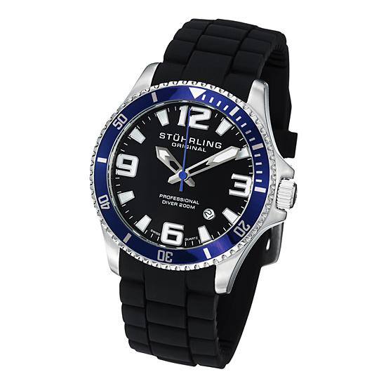 stuhrling original men s professional diver watches