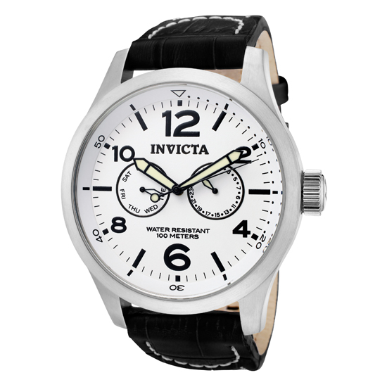 invicta s with calf leather band
