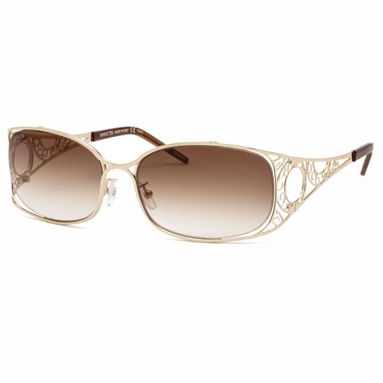 Gold Sunglasses Womens Invicta Women's Sunglasses