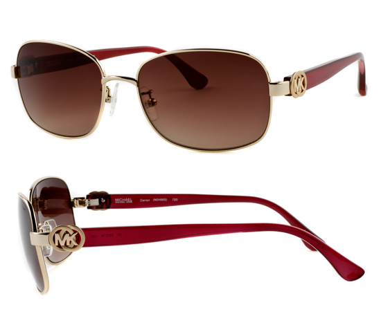 Michael Kors Gold Frame Sunglasses : Michael Kors Sunglasses