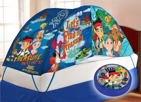 licensed kids' bed tent and night-light sets