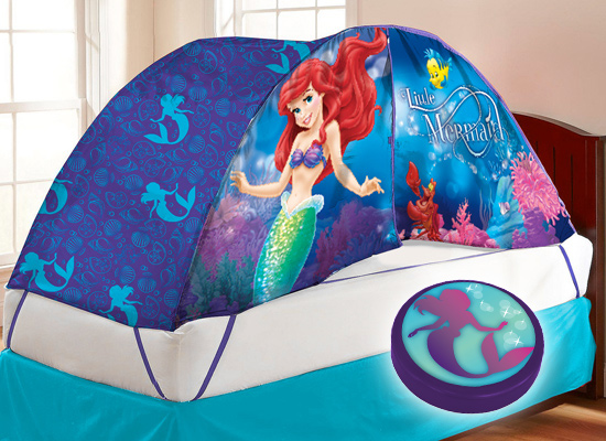 & Licensed Kidsu0027 Bed Tent and Night-Light Sets