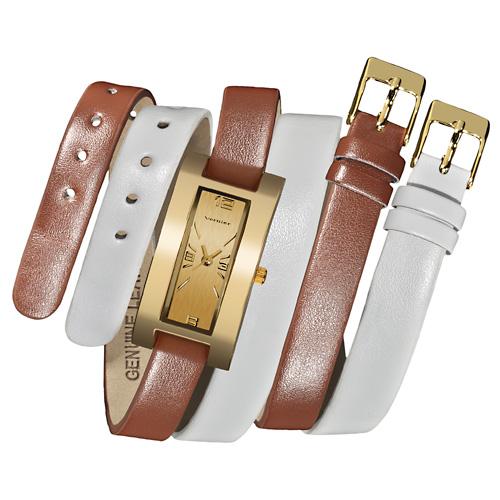 double strap watch vernier womens fashion watches