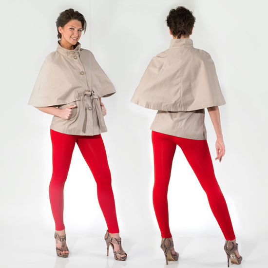 Cape Cod Groupon: Betsey Johnson Belted Capes