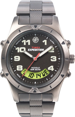 timex expedition indiglo wr 50m eBay