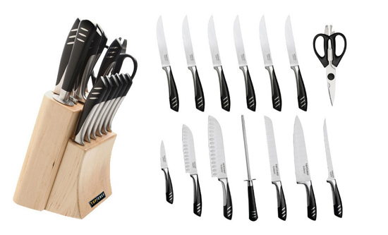 for a top chef stainless steel 15piece knife set 300 list price - Chef Knives Set
