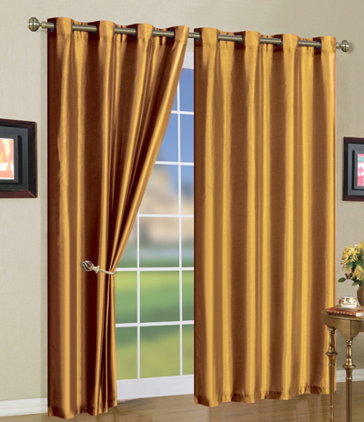 Where To Buy Beaded Curtains Moss Green Faux Silk Curt