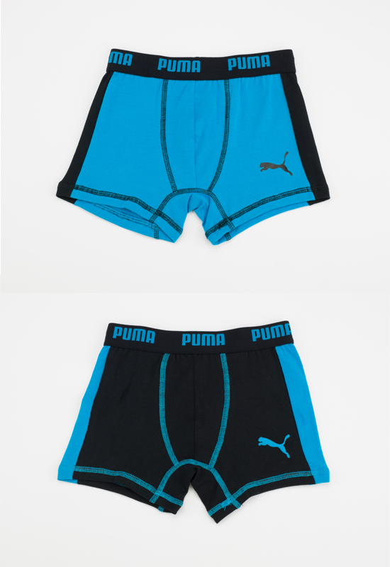 Puma Boys' Boxer Briefs Two-Packs