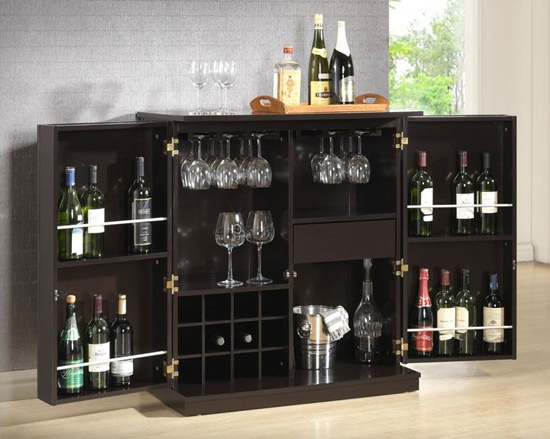 bar furniture by baxton studios