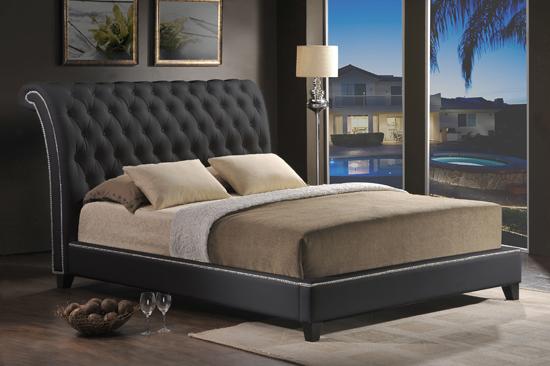 upholstered platform bed queen. dupont tufted upholstered platform, Headboard designs