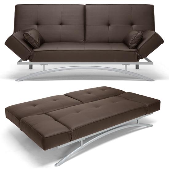 Baxton Studio Modern Futons and Sofa Beds : 847321009608SawyerBrownModernFuton LF P03 DarkBrown CVSF from www.groupon.com size 550 x 550 jpeg 141kB