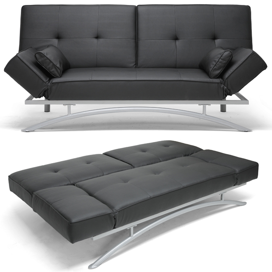 Baxton Studio Modern Futons and Sofa Beds : 847321009615SawyerBlackModernFuton LF P03 Black CVSF from www.groupon.com size 550 x 550 jpeg 136kB