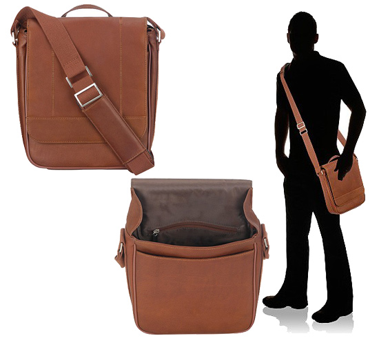 20 slot invisible leather bag